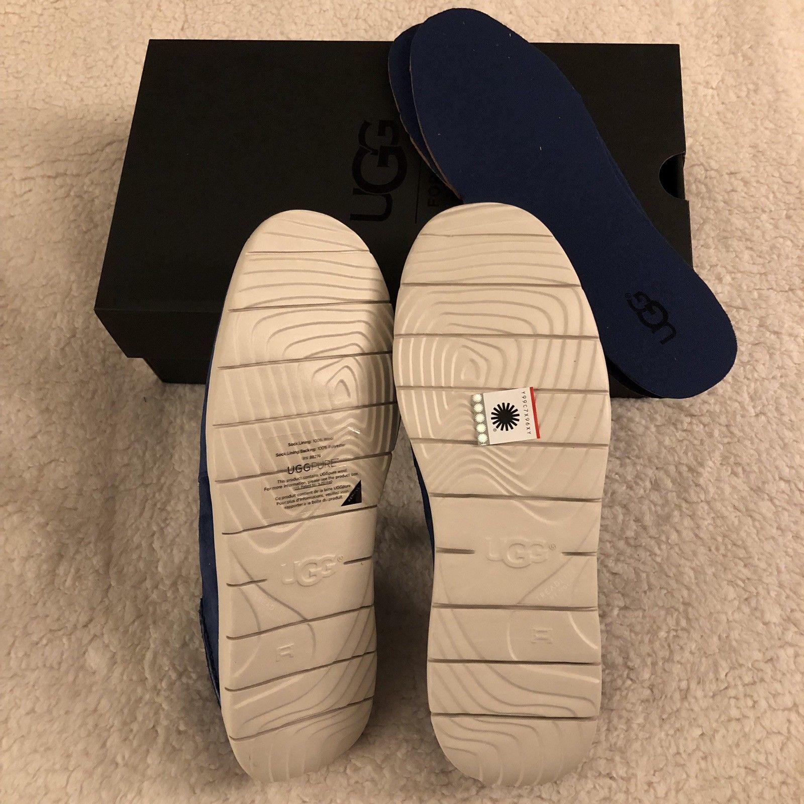 NEW UGG Men's Knox Suede Slip On Sneaker, Sizes 9, 11  Blue, MSRP $100 image 12