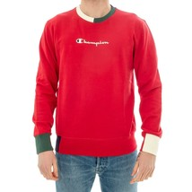 FELPA UOMO CHAMPION CREWNECK SWEATSHIRT 212788.MS038AMB MEN HOODIE COLOR... - $80.11