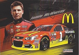 AUTOGRAPHED Jamie McMurray #1 McDonalds Racing (Chip Ganassi Team) Sprint Cup Se - $44.96