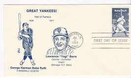 BABE RUTH #2046 CHICAGO, IL JULY 6, 1983 THE C CACHET D-311 - ₹228.14 INR