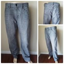 Express Men's Jeans Blake Loose Fit Boot Cut Gray Pants Denim Casual 34 ... - $38.18