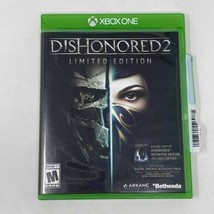 Dishonored 2 Limited Edition Microsoft Xbox One, 2016 Video Game Working... - $4.99