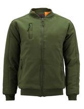 Men's Multi Pocket Water Resistant Industrial Uniform Quilted Bomber Work Jacket image 14