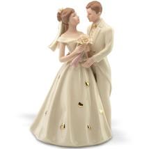 Lenox Bride & Groom Figurine Wedding Cake Topper Hearts Gown Shower Gift... - $95.00