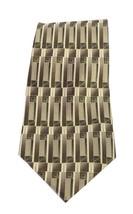 "Pierre Cardin Men's Beige Gray Brown 100% Classic Silk Tie 58"" - $7.87"