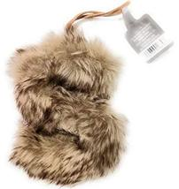 "Aspen for Target Letter S"" Monogram Holiday Ornament Brown Faux Fur Initial - $1.99"