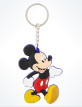 Disney Parks Mickey Mouse Rubber Keychain Keyring New** - $11.63