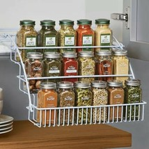 Rubbermaid Pull Down Spice Rack, White FG8020RDWHT - £15.95 GBP