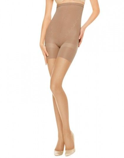SPANX  Assets 1845 Plus Size High Waist Sheers Firm Tummy Control Pantyhose