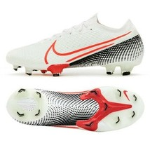 Nike Mercurial Vapor 13 Elite FG Football Shoes Soccer Cleats White AQ41... - $294.99