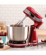 6-Speed Stand Mixer with 3-Quart Stainless Steel Mixing Bowl, Dough Hook... - $189.05