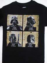 Star Wars Darth Vader and Boba Fett Mug Shots T-Shirt  - $18.00