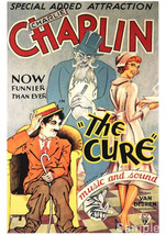 ArArt print POSTER Charlie Chaplin The Cure Film - $2.96+