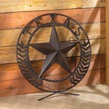 Texas Star Wall Plaque - $38.00