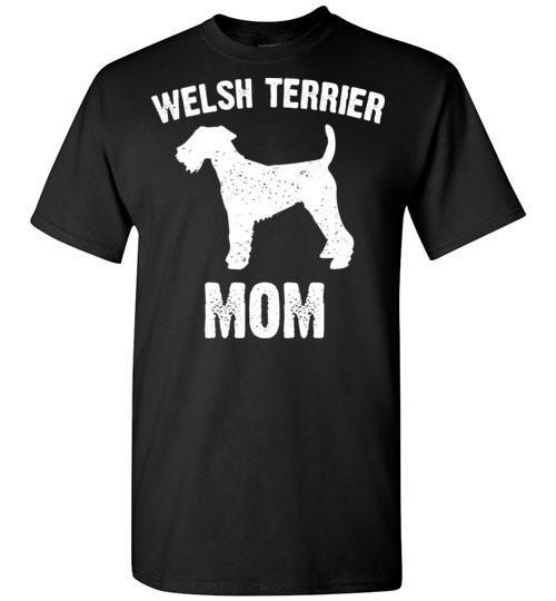 Welsh Terrier Mom T shirt, used for sale  USA