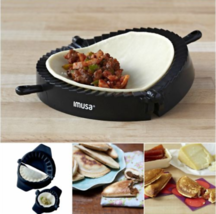 Empanada Maker Machine Dumpling Mould Dough Press Create Half Moon Desig... - ₨1,067.67 INR