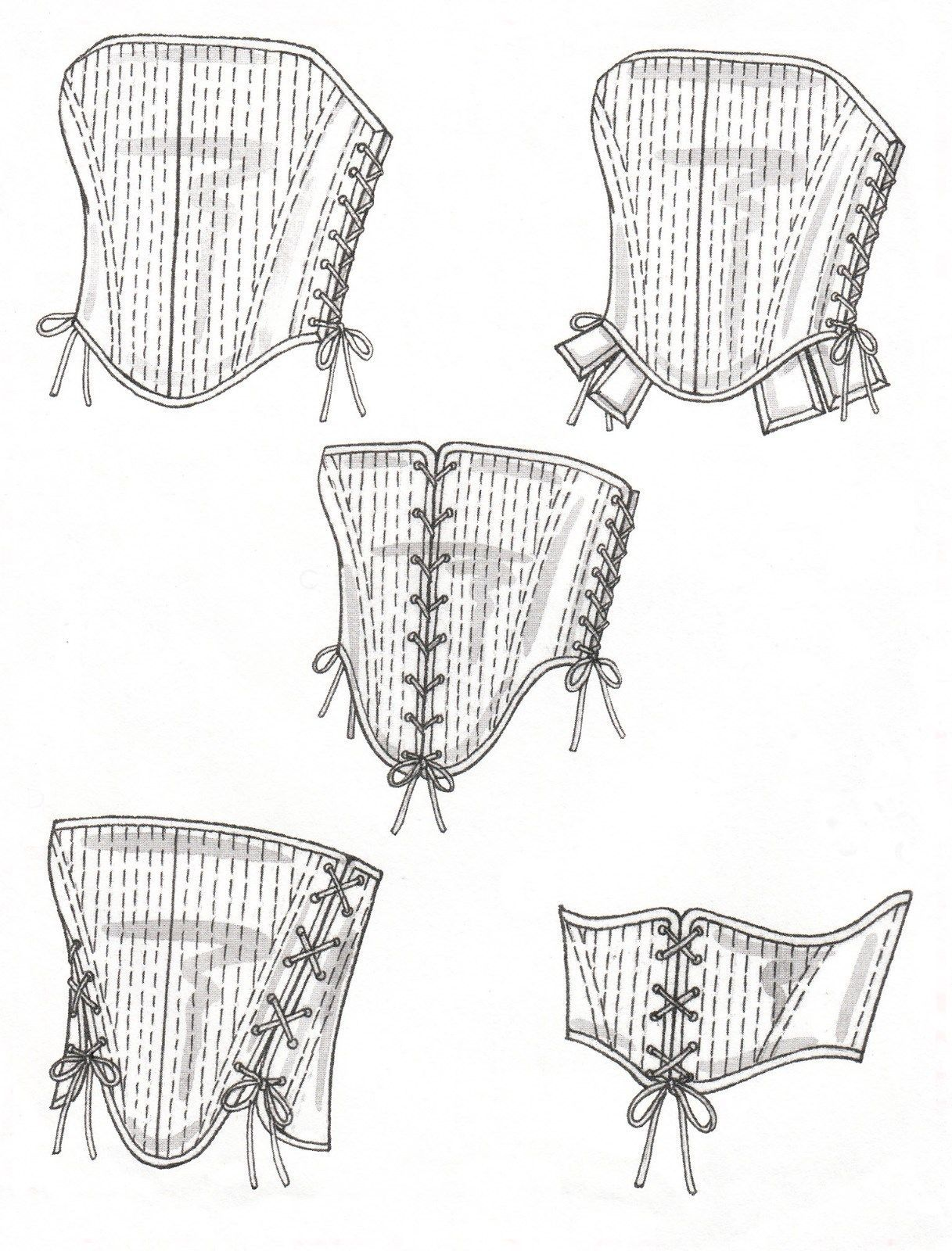 Victorian 4861 Sewing Pattern: 1 listing