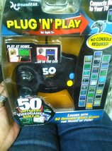 NEW dreamGear Plug N Play Video 50 Games Game Controller for TV NIP - $11.75