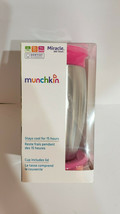 **NEW** Munchkin Miracle 360 Stainless Steel 10oz Sippy Cup ~ Pink ~ - $17.99