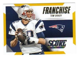 2015 Panini Score Franchise Gold #1 Tom Brady Patriots NM-MT - $8.00