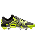 Men's adidas X 15.1 FG/AG Soccer Cleats, S75238 Multiple Sizes Iron/Blac... - $119.95