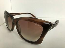 New Tom Ford 59mm Havana Women's Sunglasses Italy - $149.99