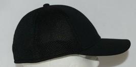 OC SPORTS PFX-120 PROFLEX STRETCH FIT MESH BASEBALL CAP - BLACK image 2