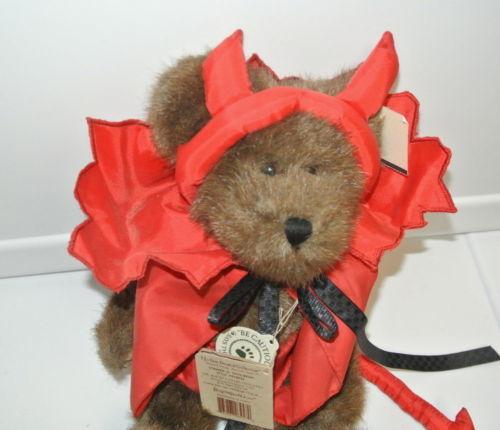 "Boyds Bears Conner D. Devilbear 919632 10"" bear Plush Stuffed Animal Tag"