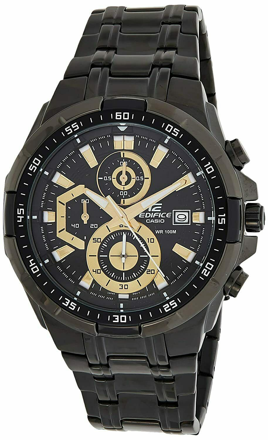 Primary image for Casio Edifice Stopwatch Men's Chronograph EFR-539BK-1AVUDF (EX187)