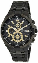 Casio Edifice Stopwatch Men's Chronograph EFR-539BK-1AVUDF (EX187) - $223.23