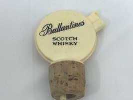 Vintage Ballantines Scotch Whisky Bottle Spout Stopper Pour 26186 - $17.81