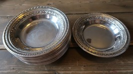 """Vintage Silverplate 6.25"""" Bowl by REED AND BARTON Model #1201 SET OF 12 - $138.59"""
