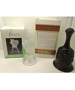 Lot 2 Hand Bell's Crystal Swan Bell & Avon 1876 Cape Cod Collection Host... - $4.46