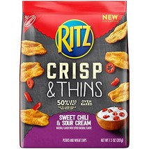 Ritz Crisp & Thins Sweet Chili & Sour Cream Chips, 7.1 oz - $14.99