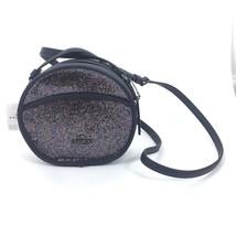 NWT Coach Women Canteen Round Glitter Small Crossbody Bag Rainbow Navy B... - $163.63
