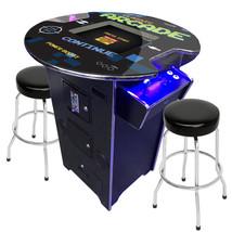 Pub Table PacMan Arcade Retro 42 in Video Game Console 412 Games w Swive... - $1,848.00