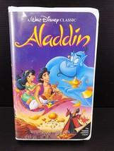 Aladdin (VHS, 1993) Walt Disney Classic Black Diamond 1662 - $9.89