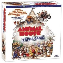 Usaopoly Animal House Trivia Game –Trivia, Draw Cards, Roll Dice & Do Tasks, NEW - $9.89