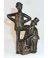 Antique Cast Iron Still Penny Bank Mutt and Jeff Comic Strip Characters - $67.00