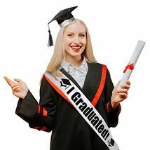 DomeStar Graduation Cap Sash Bowtie Set, Graduation Sash and Graduation ... - $8.23