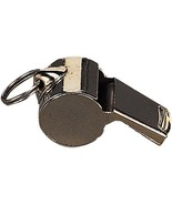 Metal Uniform Whistle with Lanyard Necklace, Silver Police Security Camping - $5.99