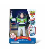 Disney Pixar Toy Story 4 Buzz Lightyear with Interactive Drop-Down Action - $118.79