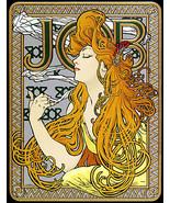 Job 22x30 Art Nouveau / Deco Print by Alphonse Mucha Hand Numbered Ltd. ... - $81.09