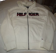 Mens Tommy Hilfiger L large Fleece zip up jacket long slv 78B6449 118 **... - $65.33