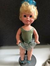 HTF Vintage 1969 Baby Dancerina - ballet dancer by Mattel Hong Kong original out - $14.80