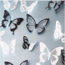 18pcs/lot 3d crystal Butterfly Wall Sticker Art Decal Home decor for Mur... - $4.99