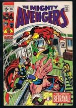 Avengers #66 ORIGINAL Vintage 1969 Marvel Comics 1st Mention of Adamanti... - $98.99