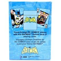 Aquarius DC Comics Retro Batman Themed Playing Cards Deck image 2