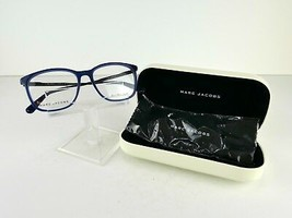 Marc Jacobs MJ 602 (NXT) Navy / Matt Black 53 x 17 145 Eyeglass Frames - $69.95
