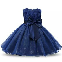 Baby Girls Tulle Lace Flowergirl Bridesmaid - $23.79